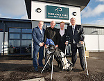 Ally McCoist, Walter Smith, Murdo Macleod and David Murray open the refurbished clubhouse at Torrance Park Golf Club near Motherwell