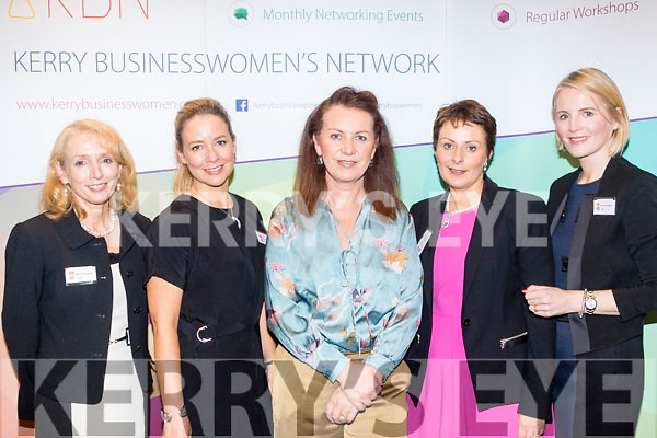 Lady Power<br /> ----------------<br /> Attending the ' Launchpad ' for the Kerry Businesswoman's Network, KBN, at the Rose hotel, Tralee last Wednesday evening were L-R Miriam McGillicuddy, Elin Sorensen, Liz Maher, Chairperson KBN with Siobhan Barrett&amp;Mary Rose  Cantillon both AIB bank Tralee.