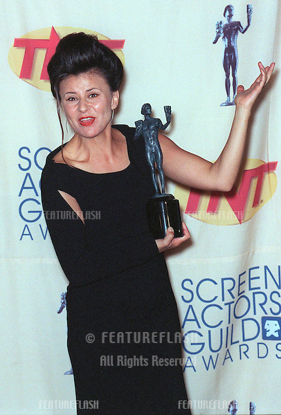 07MAR99: Actress TRACEY ULLMAN at the Screen Actors Guild Awards where she won Best Actress in a Comedy TV Series..© Paul Smith / Featureflash