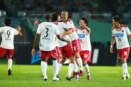 Shinji Ono (Consadole), OCTOBER 4, 2015 - Football / Soccer : 2015 J2 League match between Tokyo Verdy 0-2 Consadole Sapporo at Ajinomoto Stadium, Tokyo, Japan. (Photo by Shingo Ito/AFLO SPORT)