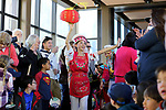 Xian Na Carlson, with the Carson Valley Chinese Cultural Dance Group, leads the Chinese New Year Celebration at the Nevada State Museum in Carson City, Nev., on Saturday, Feb. 16, 2018. <br /> Photo by Cathleen Allison/Nevada Momentum