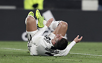 Calcio, Serie A: Juventus - Chievo Verona, Turin, Allianz Stadium, January 21, 2019.<br /> Juventus' Cristiano Ronaldo reacts after being tackled during the Italian Serie A football match between Juventus and Chievo Verona at Torino's Allianz stadium, January 21, 2019.<br /> UPDATE IMAGES PRESS/Isabella Bonotto