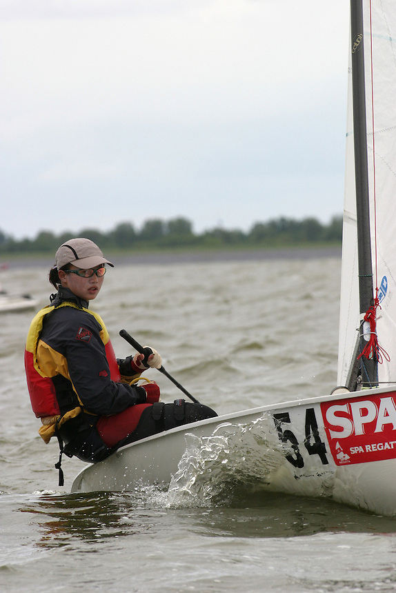 20th SPA Regatta - Medemblik.26-30 May 2004..Copyright free image for editorial use. Please credit Peter Bentley..Xa Lijia - CHN