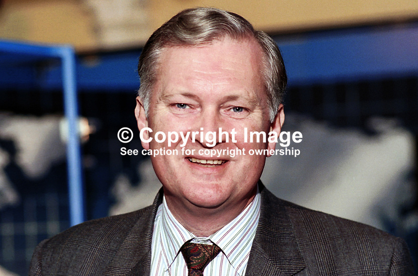 Jim Couchman, Conservative MP, Briatin. Taken at 1995 Conservative Conference in Blackpool. Ref: 199510063..Copyright Image from Victor Patterson, 54 Dorchester Park, Belfast, UK, BT9 6RJ..Tel: +44 28 9066 1296.Mob: +44 7802 353836.Voicemail +44 20 8816 7153.Skype: victorpattersonbelfast.Email: victorpatterson@mac.com.Email: victorpatterson@ireland.com (back-up)..IMPORTANT: If you wish to use this image or any other of my images please go to www.victorpatterson.com and click on the Terms & Conditions. Then contact me by email or phone with the reference number(s) of the image(s) concerned.