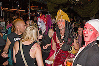 Audience Halloween fancy dress, Barnboppers and Shuddervision, Ska-lloween Gig 29 October 2011 The Wagon and Horses, Digbeth,