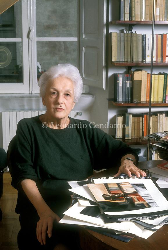 1997, ROSSANA ROSSANDA WRITER;  © Leonardo Cendamo
