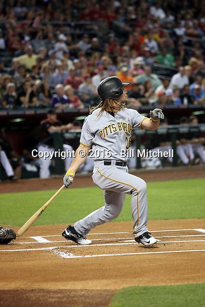 John Jaso - 2016 Pittsburgh Pirates (Bill Mitchell)