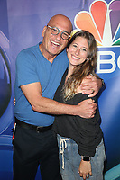 BEVERLY HILLS, CA - AUGUST 8: Howie Mandel and Jacklyn Mandel at the 2019 NBC Summer Press Tour at the Wilshire Ballroom in Beverly Hills, California o August 8, 2019. <br /> CAP/MPIFS<br /> ©MPIFS/Capital Pictures