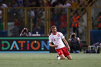 Football: Uefa under 21 Championship 2019, Italy -Poland, Renato Dall'Ara stadium Bologna Italy on June19, 2019.<br /> Poland's Krystian Bielik celebrates after scoring during the Uefa under 21 Championship 2019 football match between Italy and Poland at Renato Dall'Ara stadium in Bologna, Italy on June19, 2019.<br /> UPDATE IMAGES PRESS/Isabella Bonotto