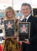 HOLLYWOOD, CA - MAY 04: Goldie Hawn and Kurt Russell pictured at the ceremony honoring Goldie Hawn and Kurt Russell with a double star ceremony on The Hollywood Walk of Fame on May 4, 2017 in Hollywood, California. Credit: Faye Sadou/MediaPunch