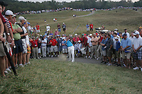 on the th hole in Saturday foursomes at the 37th Ryder Cup at Valhalla Golf Club, Louisville, Kentucky, USA - 20th September 2008 (Photo by Manus O'Reilly/GOLFFILE)