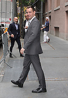NEW YORK, NY - NOVEMBER 3:  Hillary Clinton campaign manager, Robert 'Robby' Mook spotted leaving 'The View'  in New York, New York on November 3, 2016.  Photo Credit: Rainmaker Photo/MediaPunch