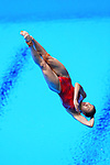 Wang Han (CHN), <br /> AUGUST 31, 2018 - Diving : <br /> Women's 1m Springboard Final <br /> at Gelora Bung Karno Aquatic Center <br /> during the 2018 Jakarta Palembang Asian Games <br /> in Jakarta, Indonesia. <br /> (Photo by Naoki Nishimura/AFLO SPORT)