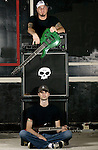 Brothers Joe and Mike Gurnari of the band Strength In Numbers...On 7/4/2003.Hot Dog House.Asbury Park, NJ..MARK R. SULLIVAN/markrsullivan.com © 2003