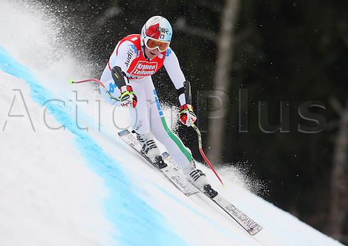 08 01 2012  Ski Alpine FIS WC Bath Kleinkirchheim Super G for women Bath Kleinkirchheim Austria  Picture shows Daniela Merighetti ITA