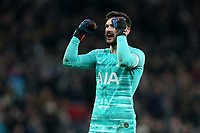 Hugo Lloris of Tottenham Hotspur celebrates the victory after Tottenham Hotspur vs Southampton, Emirates FA Cup Football at Tottenham Hotspur Stadium on 5th February 2020
