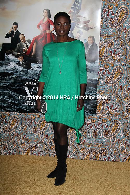 """LOS ANGELES - MAR 24:  Adina Porter at the """"VEEP"""" Season 3 LA Premiere at Paramount Studios on March 24, 2014 in Los Angeles, CA"""