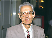 "Dr. Jack Kevorkian, an advocate for assisted suicide for terminally ill patients and the inventor of the ""suicide machine,"" appears at the 1990  International Platform Association convention in Washington, DC on July 31, 1990.<br /> Credit: Ron Sachs / CNP"