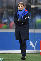 Roberto Mancini of Italy looks on during the Nations League League A group 3 football match between Italy and Portugal at stadio Giuseppe Meazza, Milano, November, 17, 2018 <br /> Foto Andrea Staccioli / Insidefoto