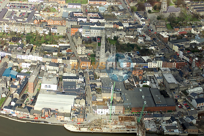Ariel View of Drogheda 284Z9988..Picture Paul Mohan Newsfile.