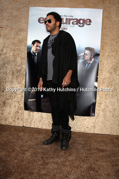 "Lenny Kravitz.arrives at the ""Entourage""  Season Seven Pemiere - an HBO Original Series.Paramount Theater.Los Angeles, CA.June 16, 2010.©2010 Kathy Hutchins / Hutchins Photo.."