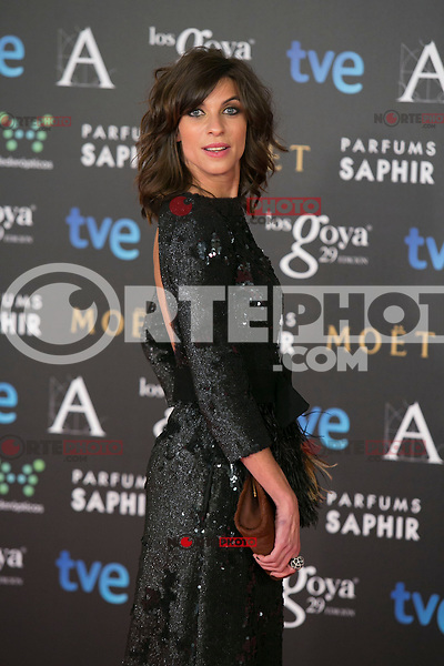 Natalia Tena attend the 2015 Goya Awards at Auditorium Hotel, Madrid,  Spain. February 07, 2015.(ALTERPHOTOS/)Carlos Dafonte) /NORTEphoto.com