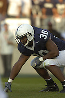 01 October 2005:  Penn State FB BranDon Snow (30)..Penn State Nittany Lions  defeated the Minnesota Golden Gophers  44-14 September 1, 2005 at Beaver Stadium in State College, PA..
