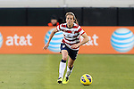 09 February 2012: Kelley O'Hara (USA). The United States Women's National Team played the Scotland Women's National Team at EverBank Field in Jacksonville, Florida in a women's international friendly soccer match. The U.S. won the game 4-1.