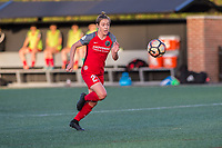 Boston, MA - Friday May 19, 2017: Meghan Klingenberg during a regular season National Women's Soccer League (NWSL) match between the Boston Breakers and the Portland Thorns FC at Jordan Field.