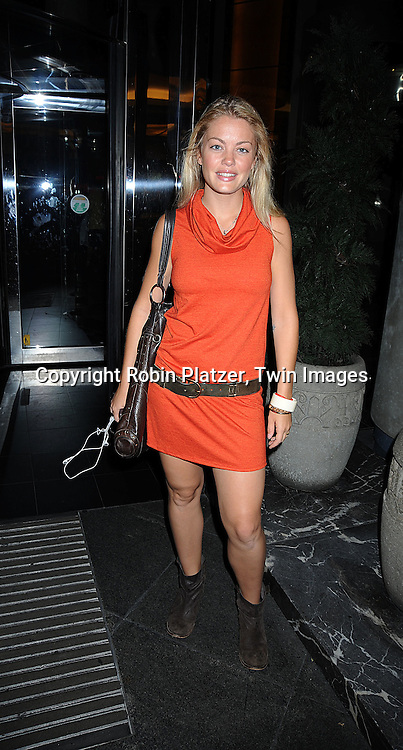 Bree Williamson..arriving at the One Life to Live Fan Club Luncheon on ..August 16, 2008 at The Marriott Marquis Hotel. ....Robin Platzer, Twin Images