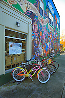 The Community Cycling Center on Alberta Street in Portland, Oregon