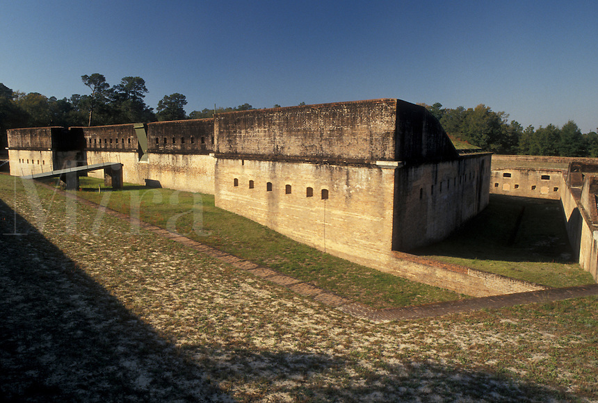 Navy, fort, Pensacola, Florida, FL, Fort Redoubt at the U.S. Naval Air Station in Pensacola.