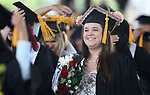 Images from the 2018 Western Nevada College Commencement ceremony, in Carson City, Nev., on Monday, May 21, 2018. 539 students graduated with 571 degrees including 84 Jump Start students. <br /> Photo by Cathleen Allison/Nevada Momentum