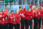 IPC European Athletics Championship 2014<br /> Opening Ceremony<br /> Volunteers<br /> Swansea University<br /> 18.08.14<br /> ©Steve Pope-SPORTINGWALES