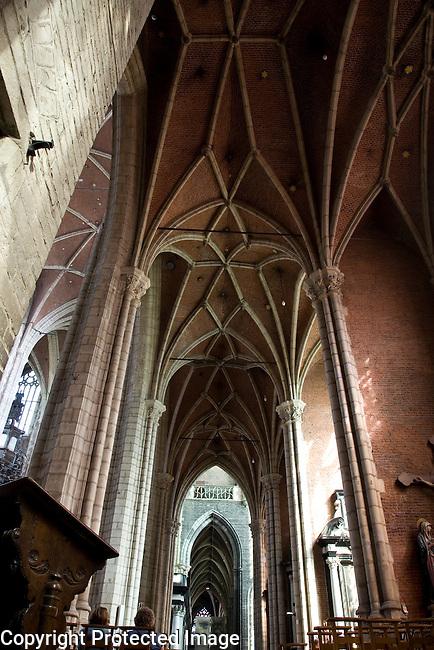 St Baakskathedraal - Bavo Cathedral, Ghent, Belgium, Europe