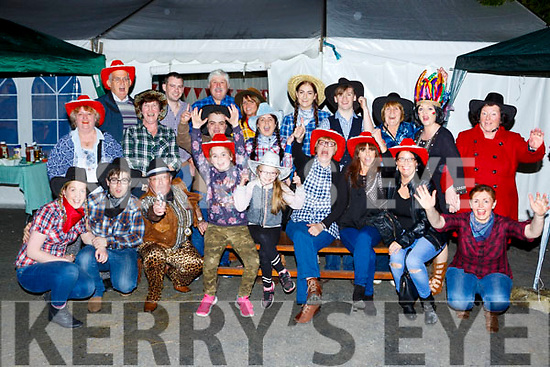 A large crowd gathered in Knightlys bar Castlemaine foe their Country and Western night in aid of Treshing for Cancer