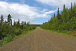 THE DEMPSTER HIGHWAY. YUKON, CANADA.