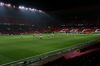 A sparse crowd at Charlton during Charlton Athletic vs Mansfield Town, Emirates FA Cup Football at The Valley on 20th November 2018