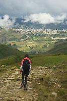 Exploring Chachapoyas in Northern Peru.