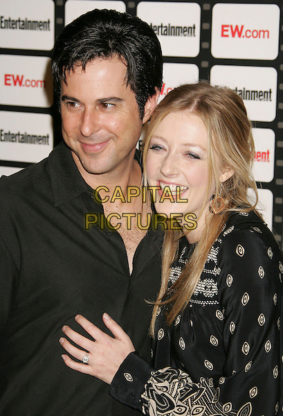 JONATHAN SILVERMAN & JENNIFER FINNIGAN.Entertainment Weekly Magazine Celebrates The 2006 Photo Issue Party held at Quixote Studios, Hollywood, California , USA, 04 October 2006..portrait headshot.Ref: ADM/RE.www.capitalpictures.com.sales@capitalpictures.com.©Russ Elliot/AdMedia/Capital Pictures.