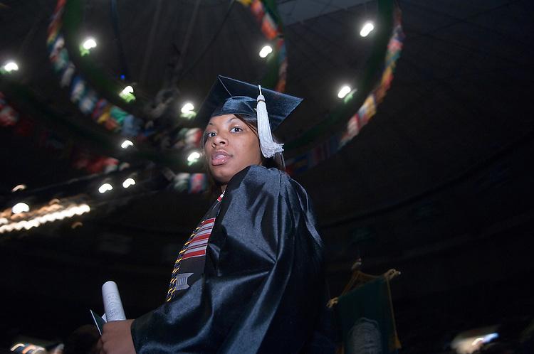 18276Undergraduate Commencement 2007..Arianna Edwards, Arielle Edwards
