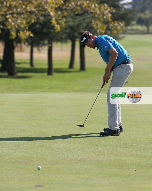 Jason Palmer (ENG) misses birdie on the 9th during Round Three of the Tshwane Open 2015 at the Pretoria Country Club, Waterkloof, Pretoria, South Africa. Picture:  David Lloyd / www.golffile.ie. 14/03/2015