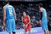 Cai Zaragoza's Pablo Aguilar during Liga Endesa ACB match.November 11,2012. (ALTERPHOTOS/Acero) /NortePhoto