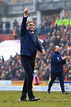Phil Parkinson, manager of Bradford celebrates victory - Bradford City vs. Sunderland - FA Cup Fifth Round - Valley Parade - Bradford - 15/02/2015 Pic Philip Oldham/Sportimage