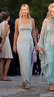 Lady Gabriella Windsor The Wedding of Prince Nikolaos of Greece and Tatiana Blatnik at the monastery of Ayios Nikolaos on the Island of Spetses, Greece.