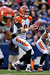 4 November 2007: Cincinnati Bengals quarterback Carson Palmer in action against the Buffalo Bills at Ralph Wilson Stadium in Orchard Park, NY. The Bills defeated the Bengals 33-21 in front of a sellout crowd of 70,745...Mandatory Photo Credit: Ed Wolfstein Photo