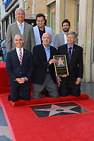 Jeffrey Tambor, Jeff Zarrinnam, Mitchell Hurwitz, Joe Lewis, Mitch O'Farrell, Leron Gubler at the Hollywood Walk of Fame Star Ceremony honoring actor Jeffrey Tambor. Los Angeles, USA 08 Aug. 2017<br /> Picture: Paul Smith/Featureflash/SilverHub 0208 004 5359 sales@silverhubmedia.com