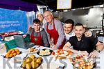 Eamon Harris, Franca Murphy, Jim Harris, Marco Leon, Luigi Angioni, pictured at the Dingle Food Festival on Saturday last.