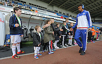 during the Barclays Premier League match between Swansea City and Chelsea at the Liberty Stadium, Swansea on April 9th 2016