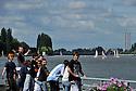 09/08/11 - VICHY - ALLIER - FRANCE - Lac d Allier a Vichy - Photo Jerome CHABANNE